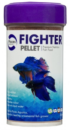Pisces Premium Betta/Fighter Pellet 30g