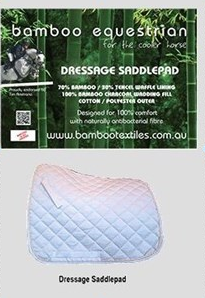 Dressage Saddle Pad - Bamboo Textiles