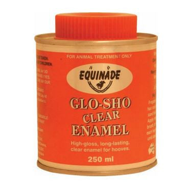 Glo-Sho Clear Enamel 250ml