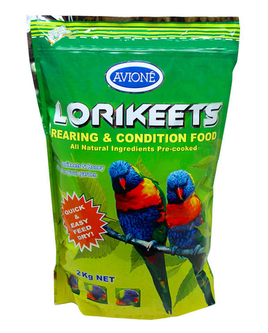Avione Lorikeet Dry Rearing & Conditioning Food