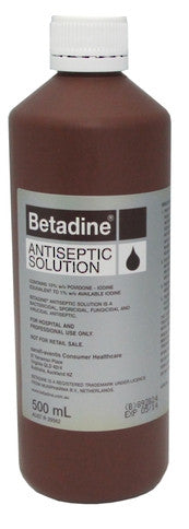 Betadine Solution 500ml