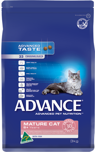 Advance Cat Mature Fish