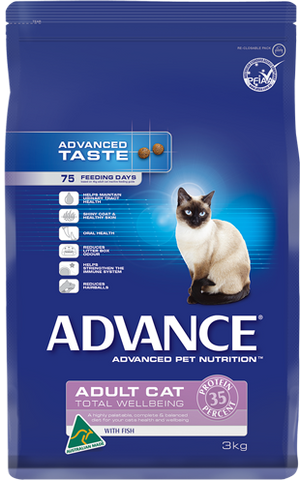 Advance Adult Cat Total Wellbeing Fish