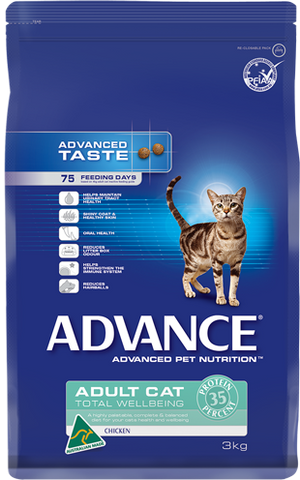 Advance Adult Cat Total Wellbeing Chicken 3kg