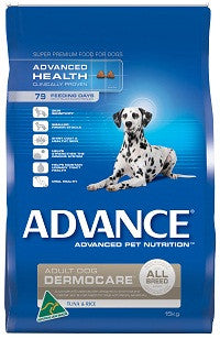Advance Dog Dermocare All Breed  Turkey & Rice