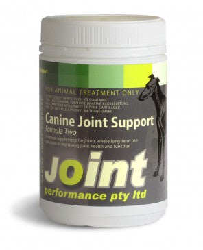 Joint performance Canine
