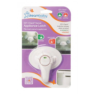 Dreambaby Ezy-Check Swivel Appliance Latch