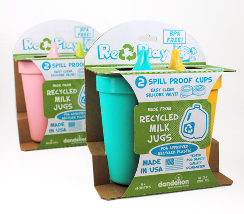 Re-Play No-Spill Sippy Cups Twin Pack