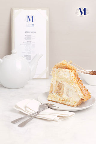 Lady M® -  Signature Cakes - Banana Mille Feuille 法式香蕉千层酥