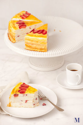 Lady M® -  Seasonal Cakes - Strawberry Mille Crêpes 草莓千层蛋糕