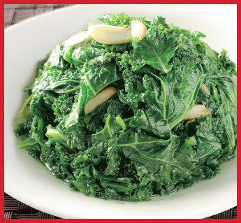 鼎泰丰 - 炒菜 Greens - 羽衣甘蓝 Sauteed Kale with Garlic
