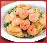 鼎泰丰 - 炒面 Stir-Fried Noodles - 上海虾炒年糕 Shanghai Rice Cakes with Shrimp