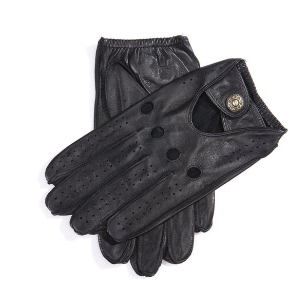 MATSU 2017 new design Men Driving full finger Leather Gloves M1047