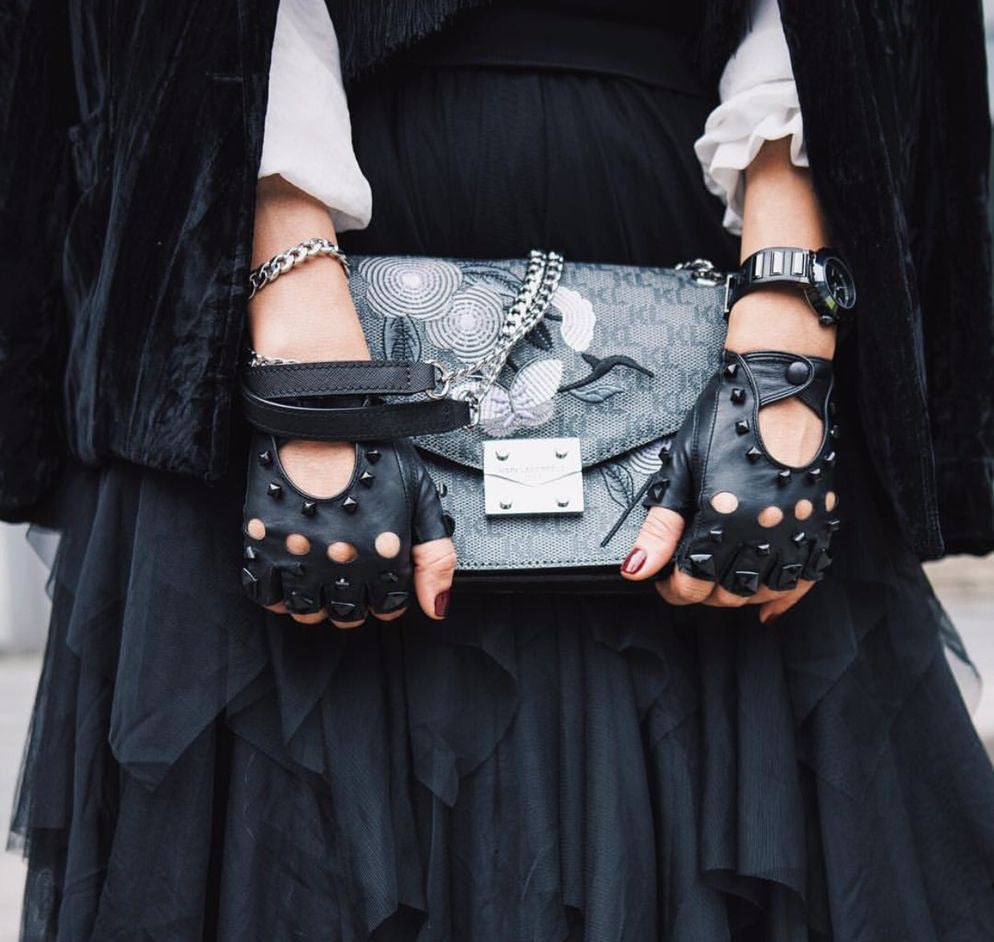 Fashion street style share by dorian.who with Matsu Studded Gloves