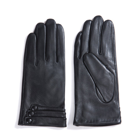 [Matsu Custom Made] Lambskin Women winter Leather Gloves