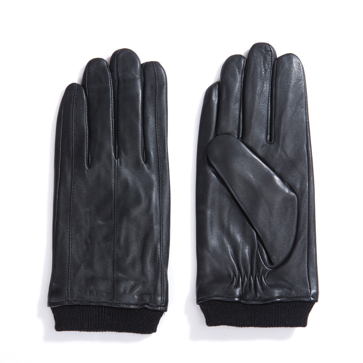 Black gloves online -  Matsu X Amazon Men Lambskin Leather Winter Gloves M2002