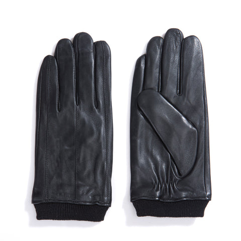 [Matsu Custom Made] Lambskin  Men  Winter Leather Gloves