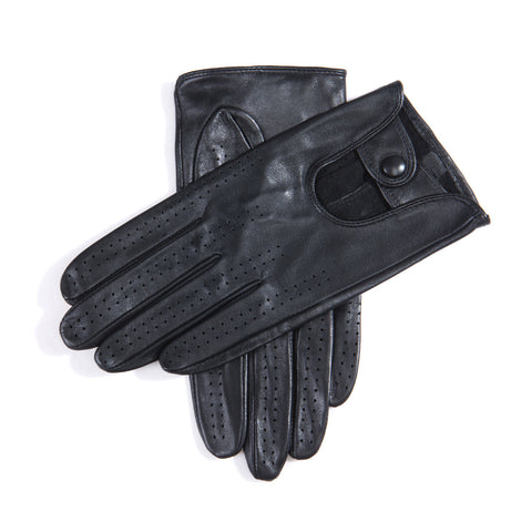[MATSU X AMAZON] Women Lambskin Driving Leather Gloves Unlined M9237