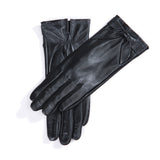 Women Lambskin  winter warm Leather Gloves M9230