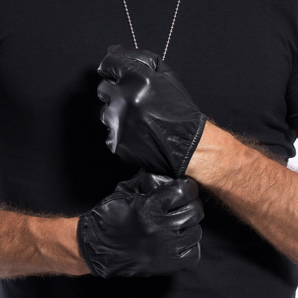 Driving gloves debenhams - Mens Leather Gloves Short Fingers Matsu X Amazon Men Lambskin Short Motorcycle Driving Leather Gloves
