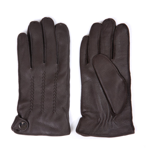 [Matsu Custom Made] Deerskin Men Winter Leather Gloves