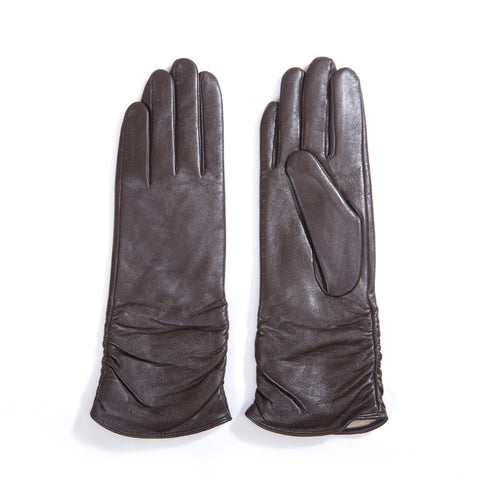 [MATSU X AMAZON]Women Lambskin Leather Gloves M9021