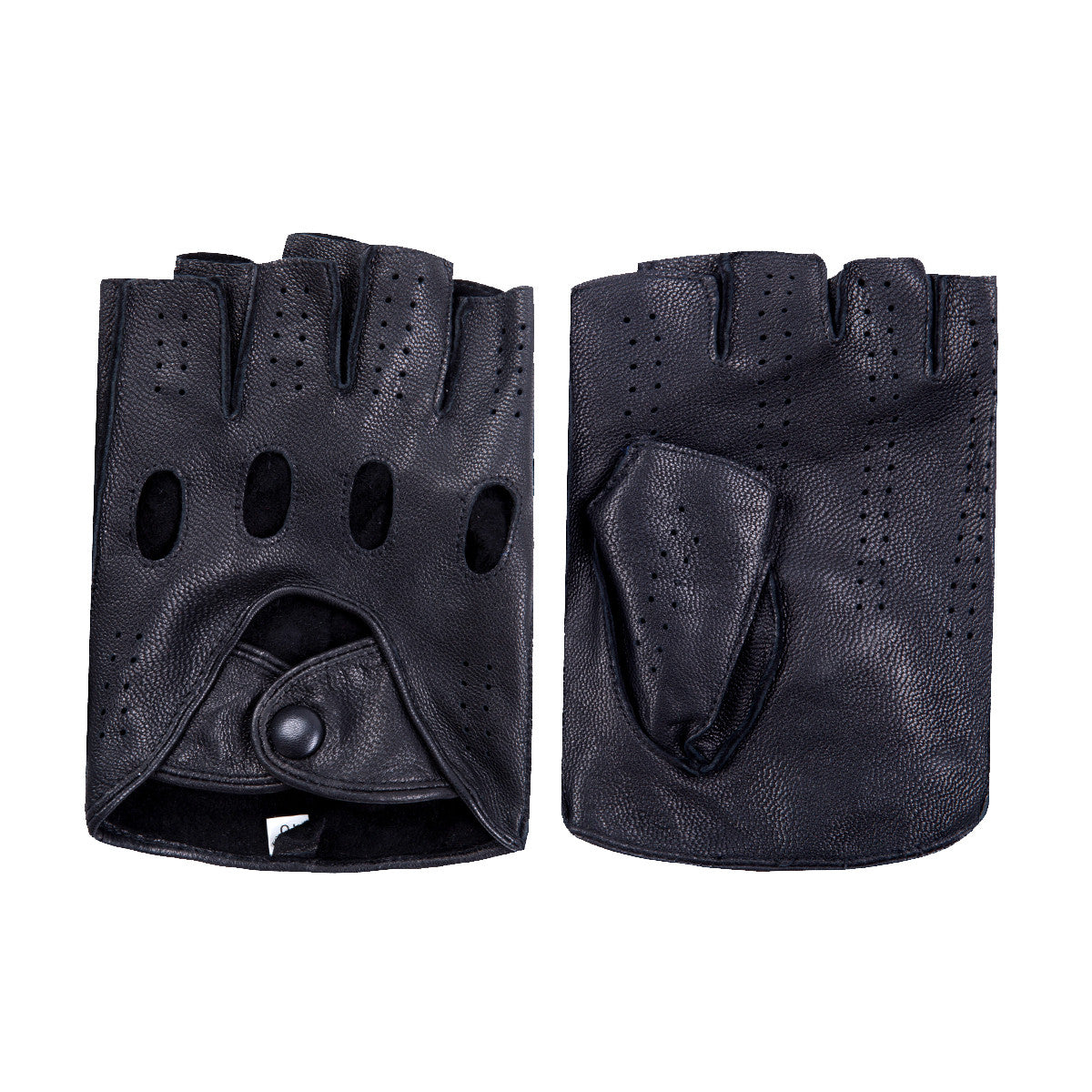 Black gloves online -  Matsu X Amazon Women Lambskin Driving Fingerless Leather Gloves Unlined M9407