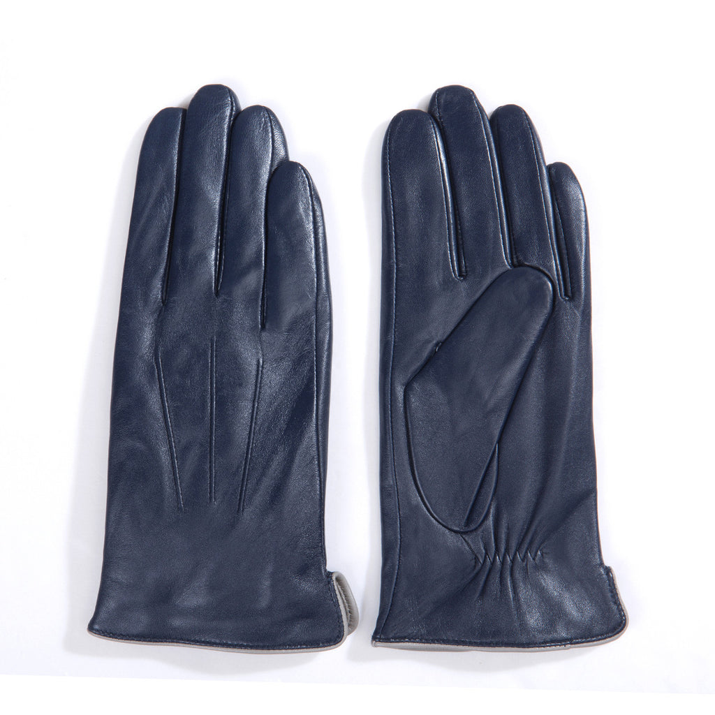 Womens leather gloves with touch screen fingers -  On Sales Women Lambskin Leather Gloves 100 Cashmere Lined Touchscreen M9906