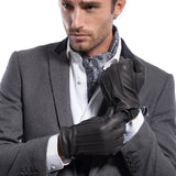 [MATSU X AMAZON ] Men Deerskin Winter Leather Gloves M1066