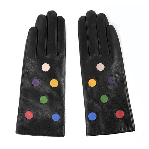 [MATSU X AMAZON ] Women Winter Leather Gloves m9123