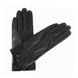 Women Lambskin winter warm Leather Gloves m9059