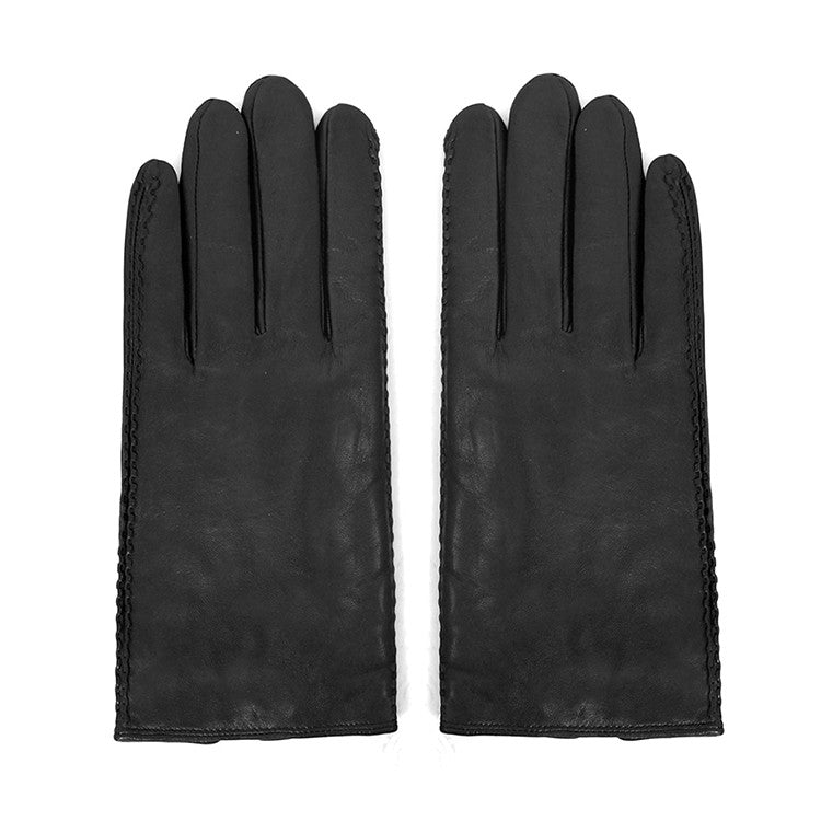 Men Lambskin Winter Leather Gloves M2023