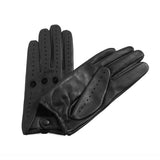 [Matsu Custom Made] Lambskin Women Leather Unlined Driving Gloves