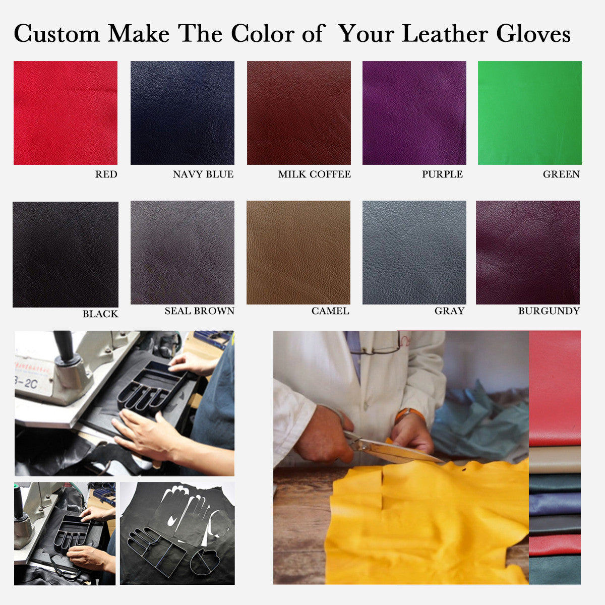 Womens colored leather gloves - Womens Colored Leather Gloves 49