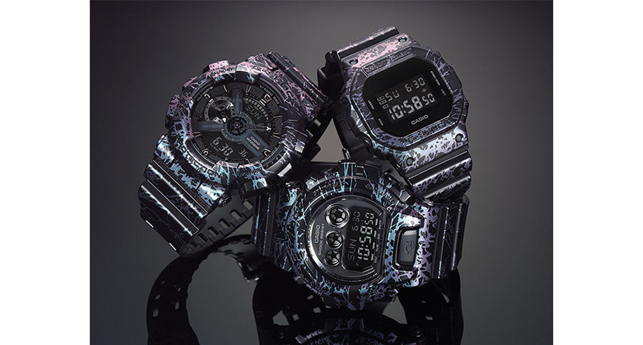 G-Shock Polarised Marble Series