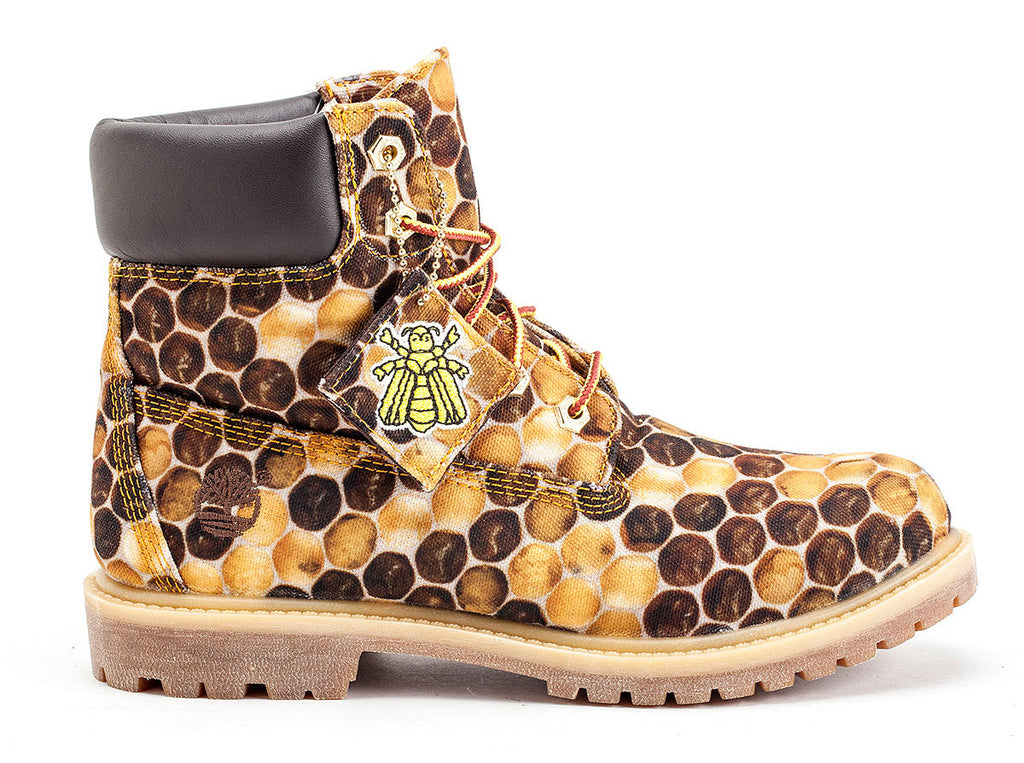 "Timberland X Bee Line for Billionaire Boys Club 6"" Canvas Boot"
