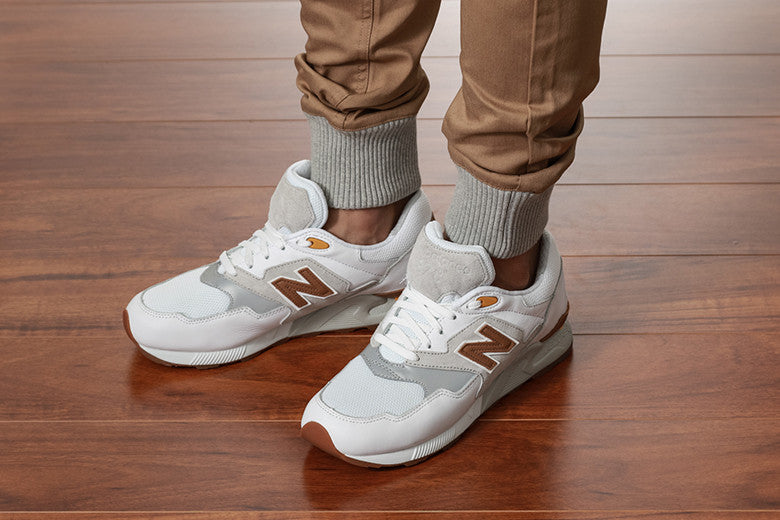 New Balance 878 9o'S Running White/Grey & Grey/White