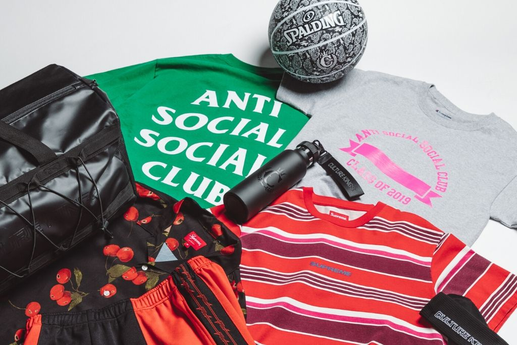 Supreme And Anti Social Social Club Join Culture Kings Consignment