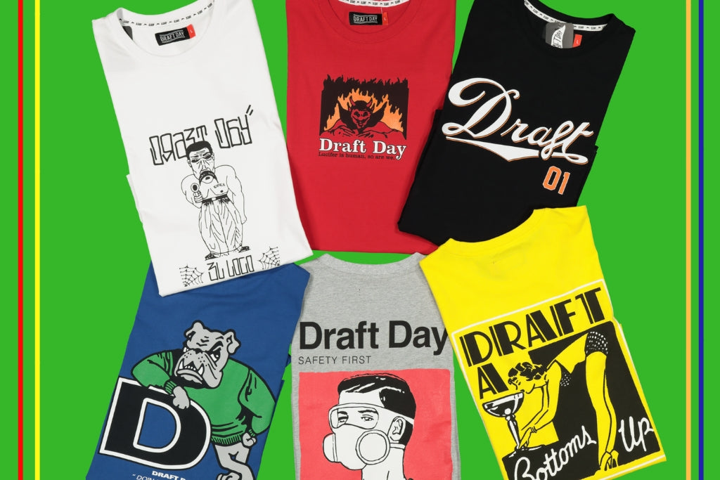 Draft Day's First Monthly Tee Drop Has Arrived 👊