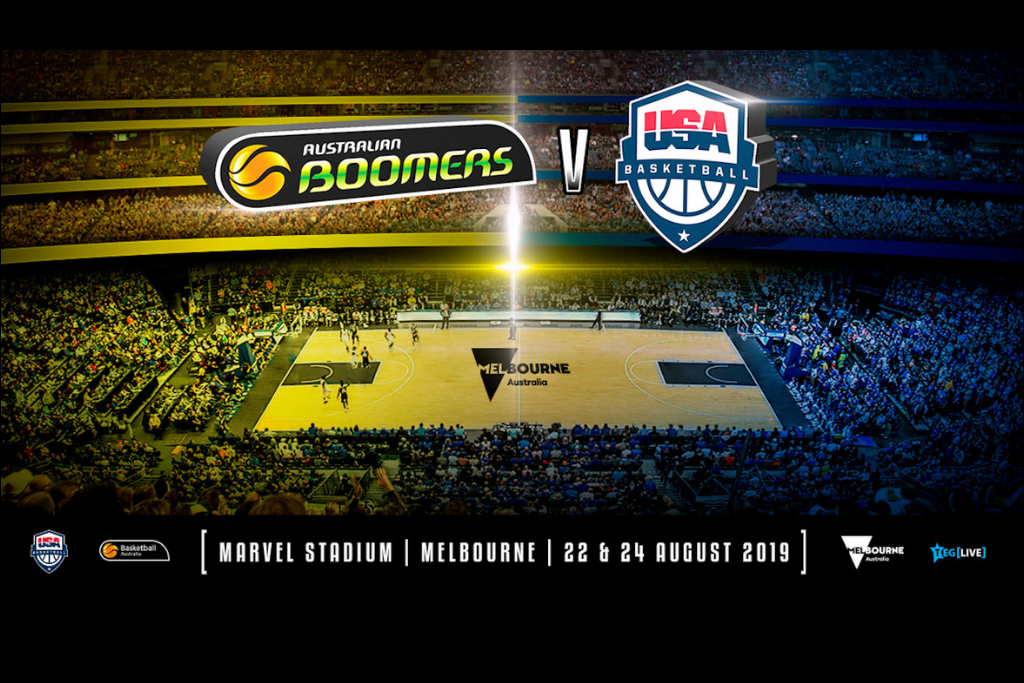 WIN TICKETS TO AU BOOMERS VS USA BASKETBALL