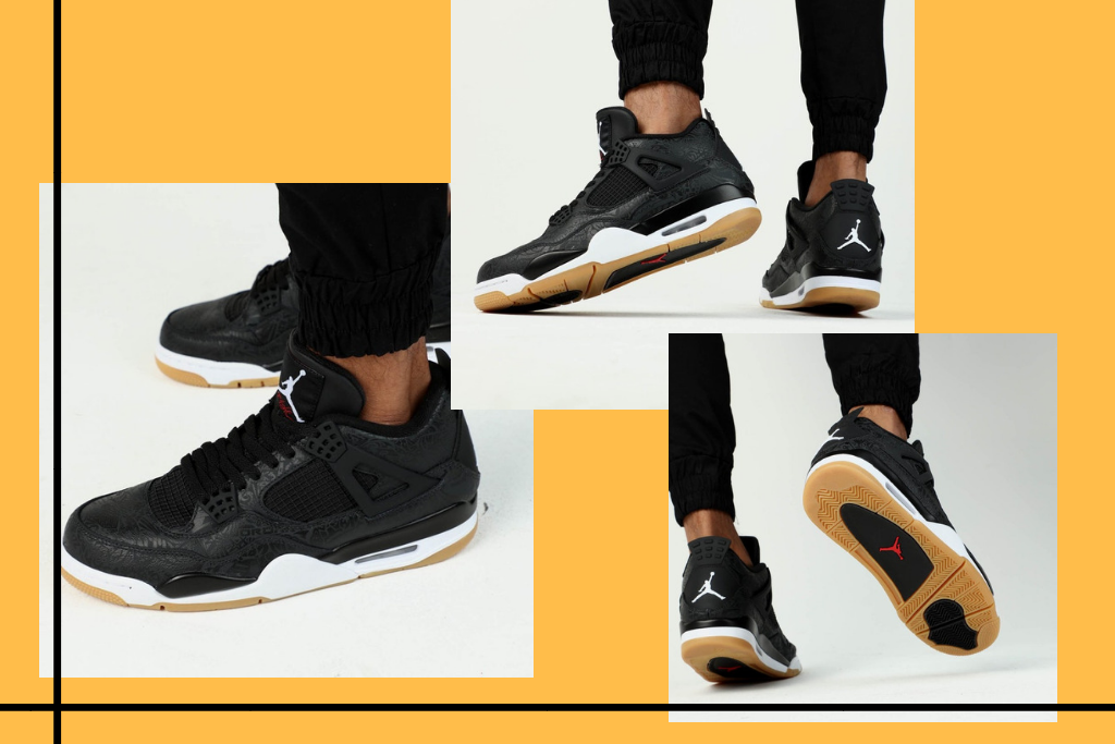 These Black Gum Air Jordan 4s Are Worth The Hype – Culture Kings 6eb37b28b9fd