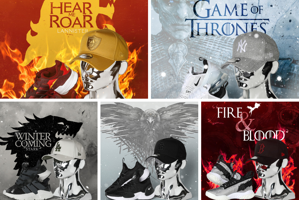 Rep Your House With Our Game Of Thrones Headwear & Sneakers