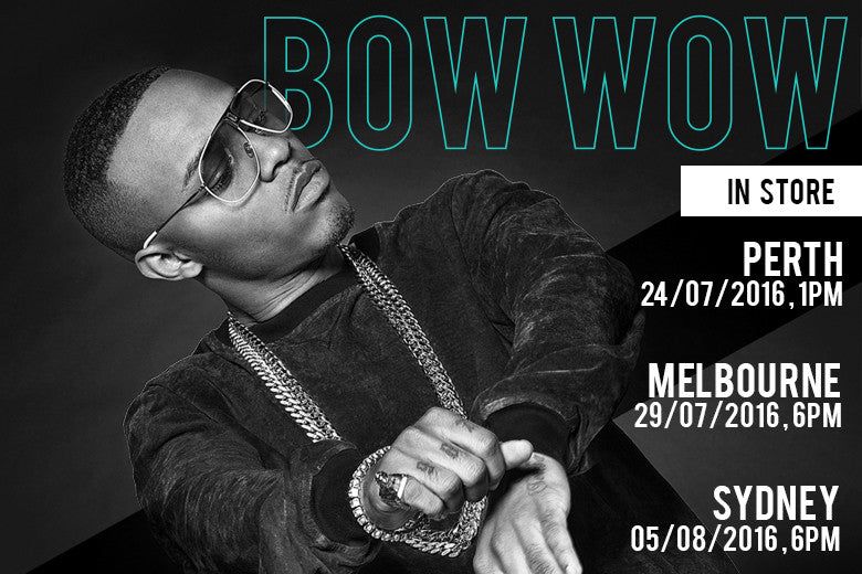 Bow Wow Hits Culture Kings In Australia