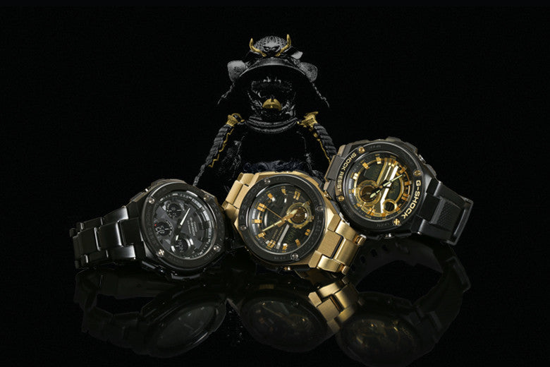 New G-Steel Range from G-Shock