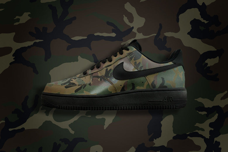 new concept 7d6d5 dbfb8 Nike Air Force 1 Low Top 07 LV8 Camo
