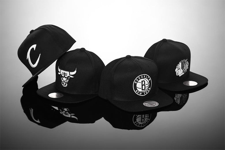 Mitchell & Ness New Black & White Range
