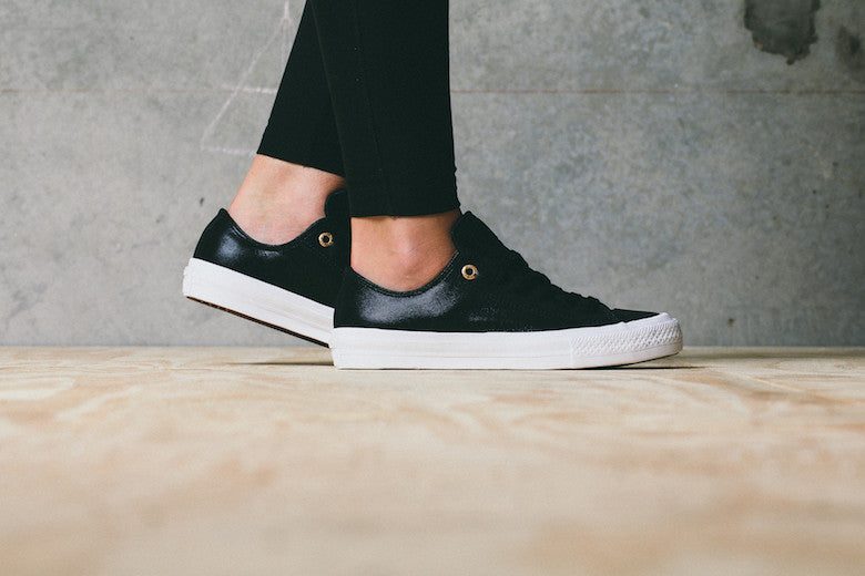 Converse Women's Chuck II In New Leather Colourways Just Dropped