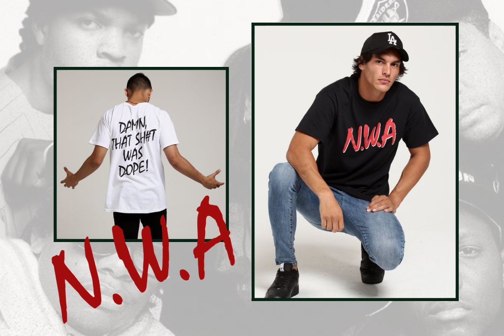 N.W.A Straight Outta Compton Merch Is Here
