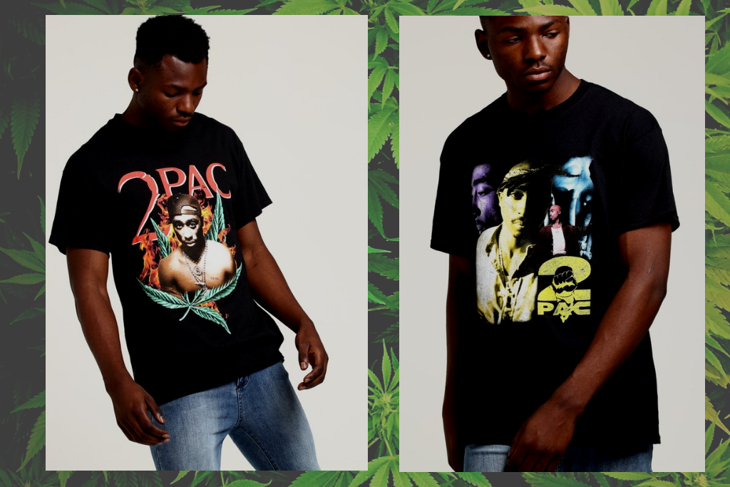 Hit Em Up In The Tupac Vintage Bootleg Collection