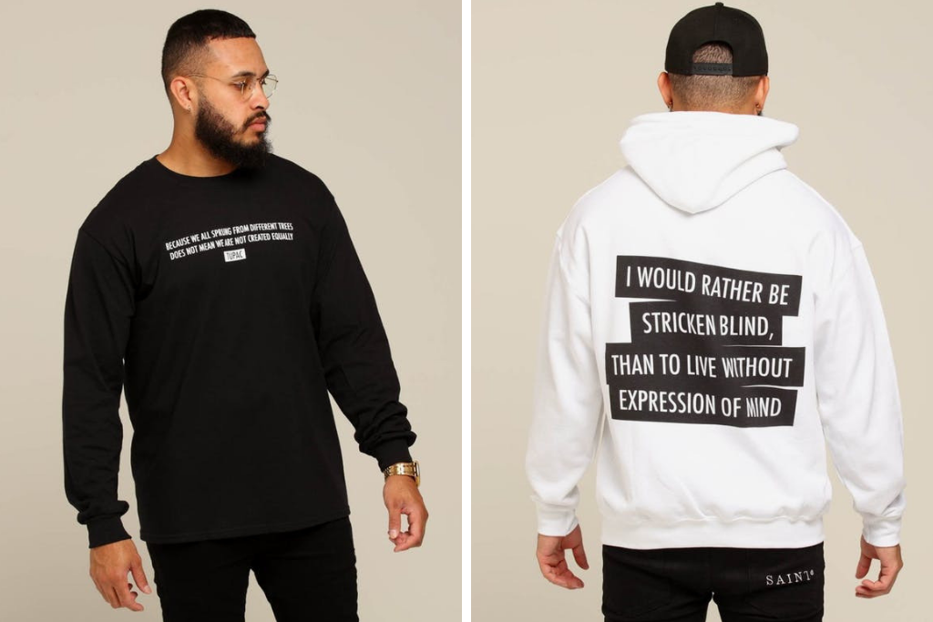 Rep Iconic Lyrics With Fresh Tupac Merch
